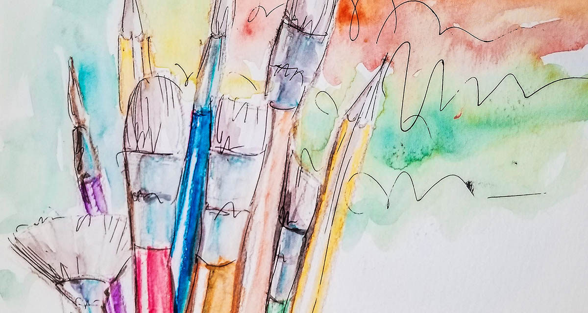 Watercolor Painting Ideas And Techniques For Beginners Bidun Art